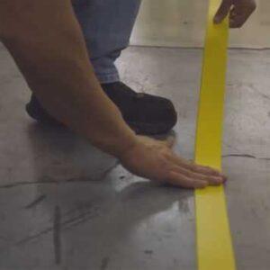Wytrzymałe paski do znakowania podłóg PTP20 Tough-Mark ™