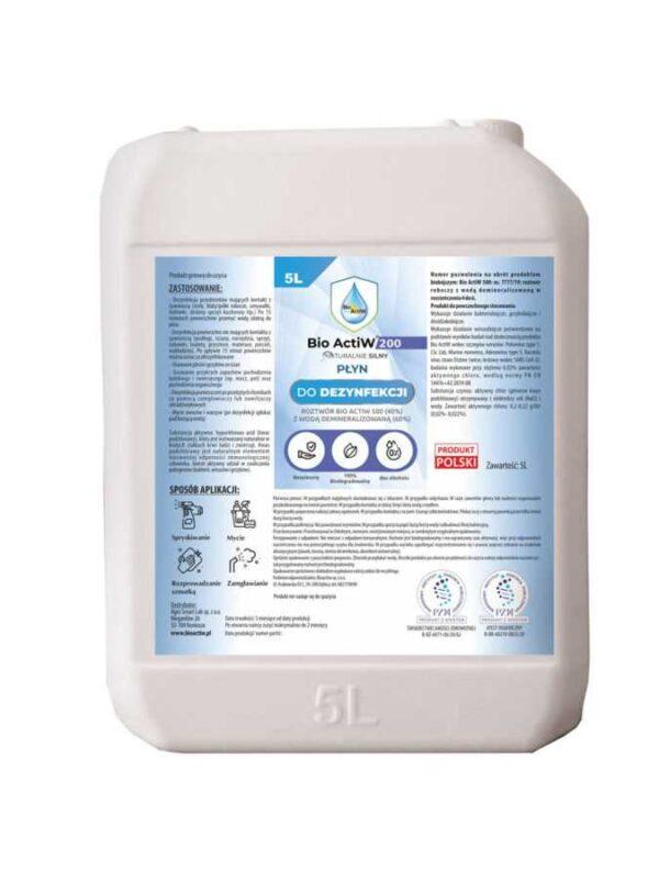 płyn dezynfekcyjny woda elektrolizowana