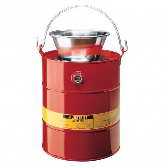 bezpieczny pojemnik na substancje łatwopalne