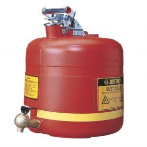 Bezpieczny pojemnik na płyny łatwopalne